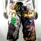 "Minute Mirth Shorts Trunks Board Tattoo Surf K4 Sz 32"" 34"" 36"" 38"" Swim Indie"