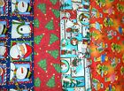 Clearance CHRISTMAS #1 Fabrics,Sold Individually,Not As a Group,By The Half Yard