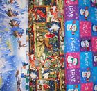 CHRISTMAS #14  Fabrics, Sold Individually, Not As a Group, By The Half Yard