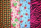 Clearance FLANNEL Fabrics #4,Sold Individually,Not As a Group,By The Half Yard