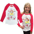 Girls Top Official Minions Despicable Me Childrens Prom Queen 5-6 Years T Shirt