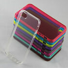 Hot Soft Silicone Rubber Case Skin Cover For Iphone 5 5s Back Cover 6 Color