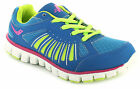 New Ladies/Womens Blue Lace Ups Lightweight Running/Jogging Trainers. UK SIZES