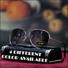 NEW MENS GLASSES POLICE COP PILOT AVIATOR FREE STYLE