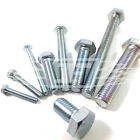 M5 (5mm) FULLY THREADED SET SCREW GRADE 8.8 ZINC SCREW HEXAGON HEX HEAD BOLT