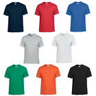 New Mens Gildan Dryblend T-shirt Knit With Taped Neck and Shoulders Size S-2XL