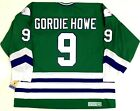 GORDIE HOWE HARTFORD WHALERS FULL NAME ON BACK GREEN CCM VINTAGE JERSEY NEW