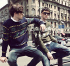 MO New Deer Cotton Men's Casual Pullovers Sweaters Long Sleeve Knitting Coat U0M