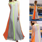 Women Summer Boho Dresses Evening Party Beach Dresses Chiffon Long Maxi Dress