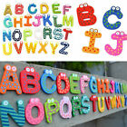 26 Wooden Alphabet Fridge Magnet Educational Study Toy For Children Kids Baby