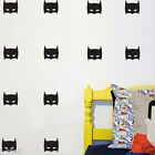 42 Super Hero Batman Mask Removable wall stickers for Kids / Nursery Vinyl decal