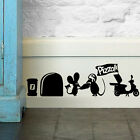 Cute Mouse Hole Vinyl Home Decor Wall Sticker Wall Decals Art Mural