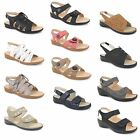 Womens Ladies Wedge Ankle Strap Casual Comfort Summer Open Toe Sandals Shoes