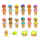 JAPAN SONNY ANGEL 2015 BEACH HAWAII SERIES MINI FIGURE WITH HAT