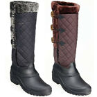 Harry Hall Womens Winter Wellys Stable Padded Yard Walking Mucker Boots Size 3-8