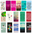 Sayings Quotes Flip Case Cover for Samsung S3 S4 S5 S6 - 36