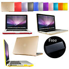 Frosted Rubberized Hard Case Cover For Apple MacBook Pro Retina Air 13' NEW 12