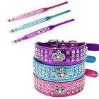 Rhinestone Colors Crown Dog Collars  Pet Cat Puppy Chihuahua Toys Bling Collar
