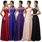 LONG Prom Gown Party Evening Bridesmaid Cocktail Maxi Dresses STOCK SIZE 6-18++