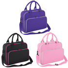 New Childrens BagBase Detachable Adjustable Strap Retro Style Dance Bag One Size