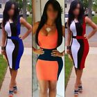 Sexy Women Lady Sleeveless Slim Bandage Party Evening Cocktail Pencil Mini Dress