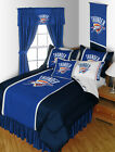 Oklahoma City Thunder Comforter Bedskirt Sham Pillowcase Twin to King Size