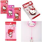 NEW SANRIO HELLO KITTY SOFT PLASTIC EASY PULL TELESCOPIC KEYCHAIN 1962681