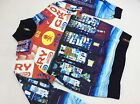 "STASH HOUSE ""BLOCK PRNT"" POLYESTER JACKET STYLE # (H37JT11) MULTI-COLOR"