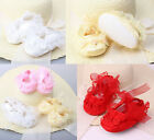 NEW Infant Newborn Baby HA Girls Princess Non-Slip OC Lace Flower Shoes
