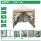 Quictent Silvox® 6.6x6.6' Pop Up Canopy Gazebo Party Tent Pyramid-roofed 8 Color