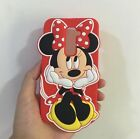 3D Cartoon Sit Minnie Mouse Soft Silicone Back Case For LG G2 D802