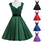Vintage Retro Style 1940s 1950s Swing Evening Prom Party Pinup Dress