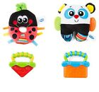 Playgro First Friends Gift Pack - Panda or Ladybird Baby Infant Rattle Teether