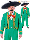 Mens Mexican Singer Mariachi Dorito Tortilla Stag Fancy Dress Costume Outfit