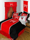Chicago Bulls Comforter Sham and Valance Twin Full Queen King Size Sidelines