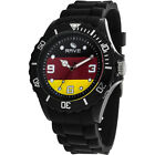 Rave Flag Watches RV1159 Midsize Watch with Black Silicone Band