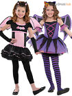 Age 3-10 Girls Ballerina Bat Costume Halloween Fancy Dress Party Kids Childrens