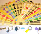 Jewellery Display Stand Price Stickers Labels Dumbells Jewellery Making Kit