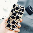 Cute New cartoon Funny 3D eye cat popcorn back case cover for iphone 7 6 6S plus