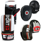 Sporteq Leather Mini Focus Pads, Bag Mitts Or Hook and Jab Speed Pads,Bag Gloves