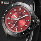 Voodoo SHARK ARMY Date Quartz Silicone Men Outdoor Military Sport Wrist Watch