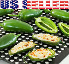 30+ ORGANICALLY GROWN Mucho Nacho Jalapeno Hot Pepper Seeds Heirloom NON-GMO