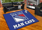 New York Rangers Man Cave Area Rugs Choose Size