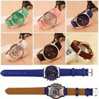 Women's Watch Geneva Roman Numerals Faux Leather Analog Quartz Wrist Watch