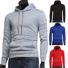 2015 Men's Slim LONG SLEEVE Casual Sport Hooded Hoodies Coat Jacket Outwear XS-L