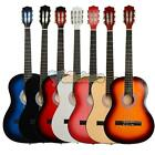 """New 38"""" 7 Color Classical Guitar with Picks & String for Beginner"""