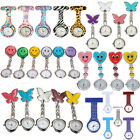Portable Nurses Doctors Brooch Clip Tunic Medical Analog Quartz Fob Pocket Watch