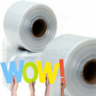 Layflat Polythene Poly Tubing Tube *ALL SIZES & QTYS* 250 & 500 Gauge Rolls