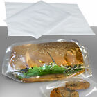 CLEAR POLYTHENE PLASTIC FOOD APPROVED BAGS 100 GAUGE *ALL SIZES / QTY'S*