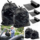 VERY STRONG BLACK REFUSE SACKS BAGS BIN LINERS BAG RUBBISH UK MADE 153G